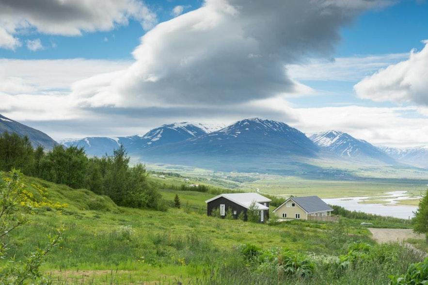 冰島阿克雷里郊區民宿