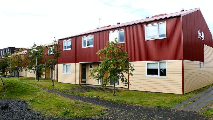 冰岛西部毕夫柔斯特大学的宿舍