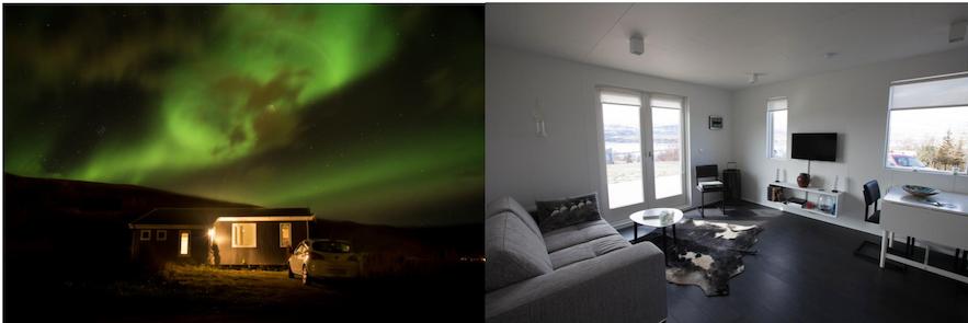 冰島北部Akureyri 民宿極光