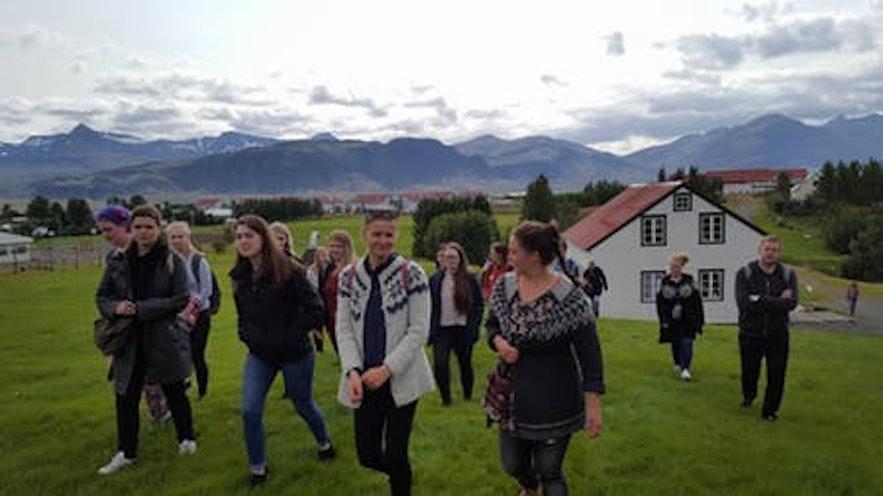 冰岛农业大学位于冰岛西部的博尔加内斯小镇附近