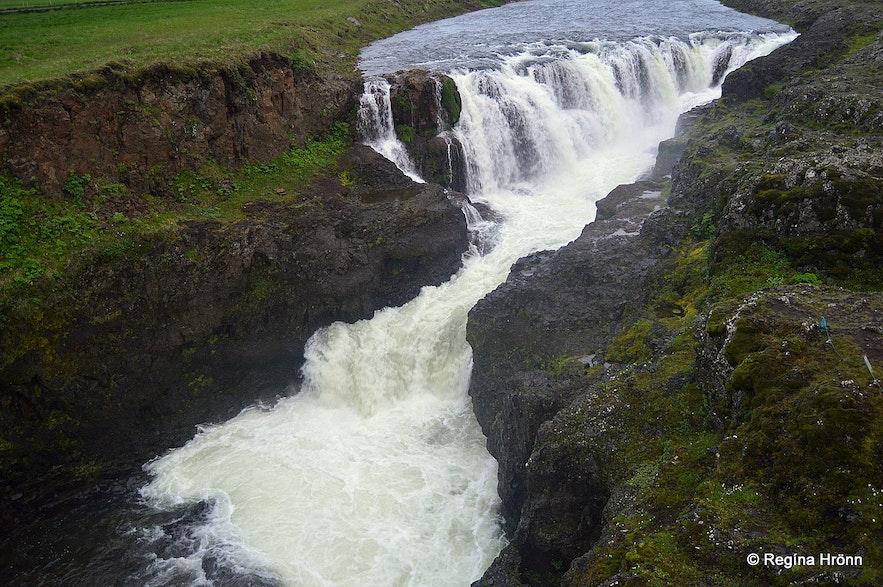 Kolufossar waterfalls Kolugljúfur
