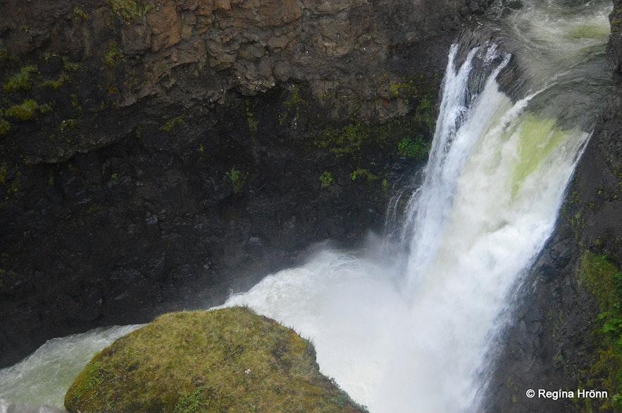 Kolufossar waterfalls in Kolugljúfur