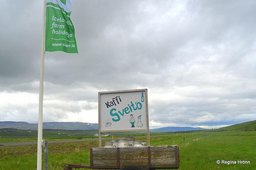 Kaffi Sveitó in Víðidalur valley