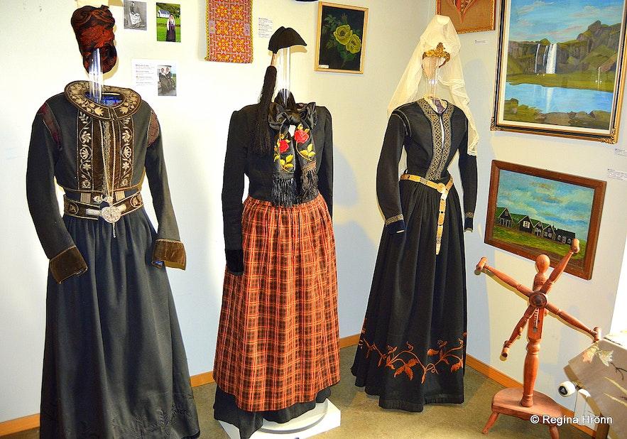 National costumes at Skógasafn Museum