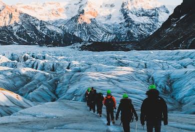 Wędrówka po lodowcu Skaftafell | Średni poziom trudności