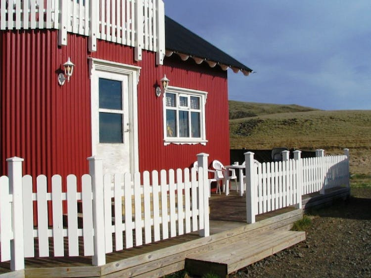 You'll spend the first night on this two-day hot spring and waterfall tour in a lovely country home in South Iceland.