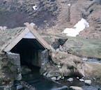 Viele der isländischen Farmen wurden 1104 bei einem Vulkanausbruch zerstört.
