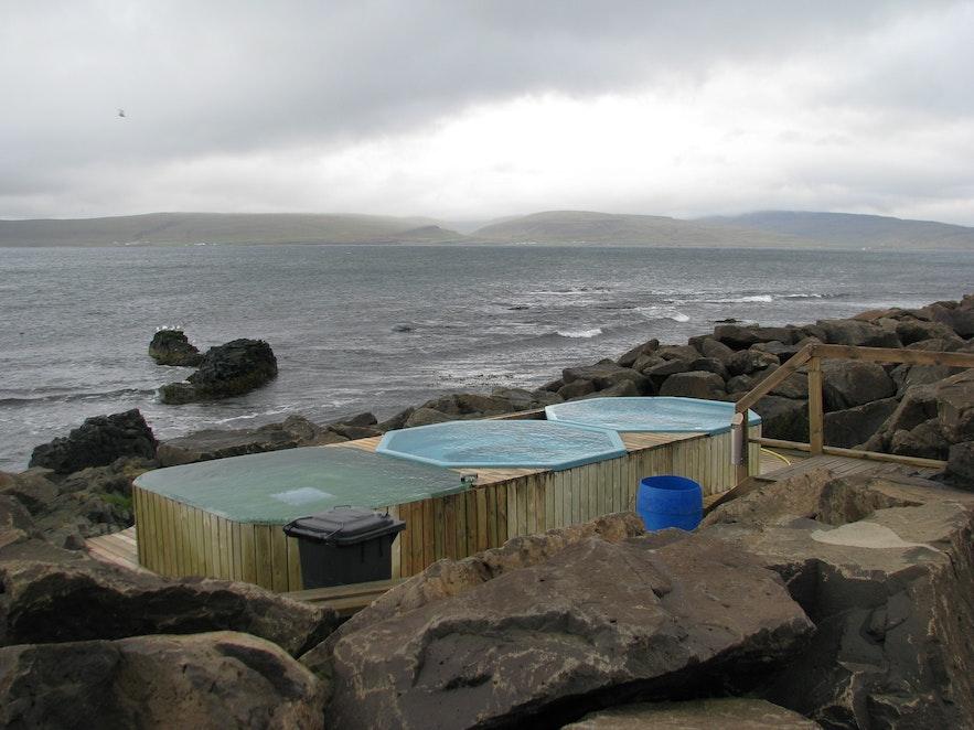 冰島Drangsnes 溫泉