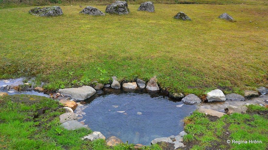 Vígðalaug pool at Laugarvatn