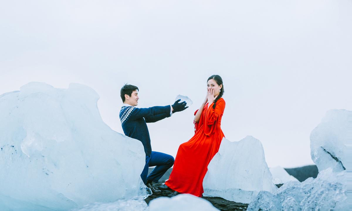 冰岛三天两夜|南岸杰古沙龙冰河湖蜜月+跟拍|雷克雅未克出发 - day 2