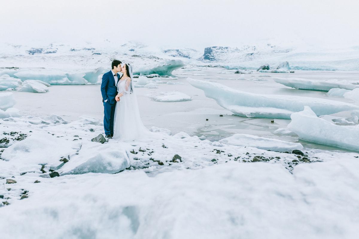 冰岛三天两夜|南岸杰古沙龙冰河湖蜜月+跟拍|雷克雅未克出发 - day 3