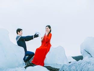 冰岛三天两夜|南岸杰古沙龙冰河湖蜜月+跟拍|雷克雅未克出发