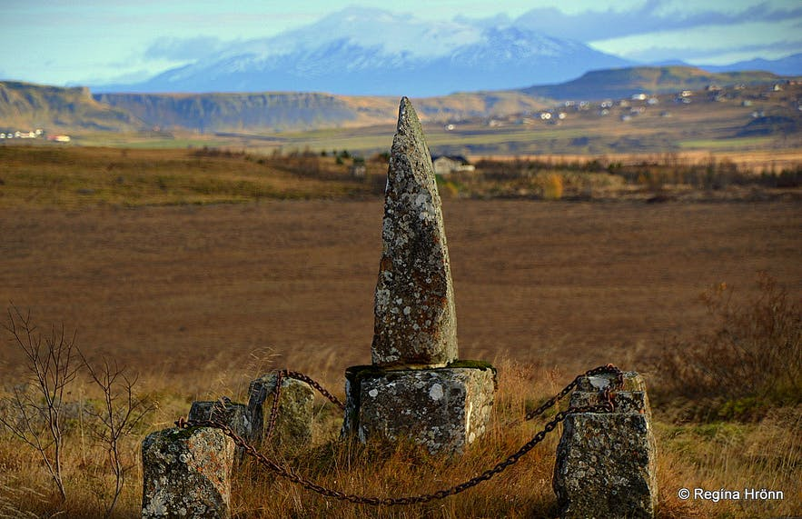 The historical Skálholt Episcopal See in South-Iceland