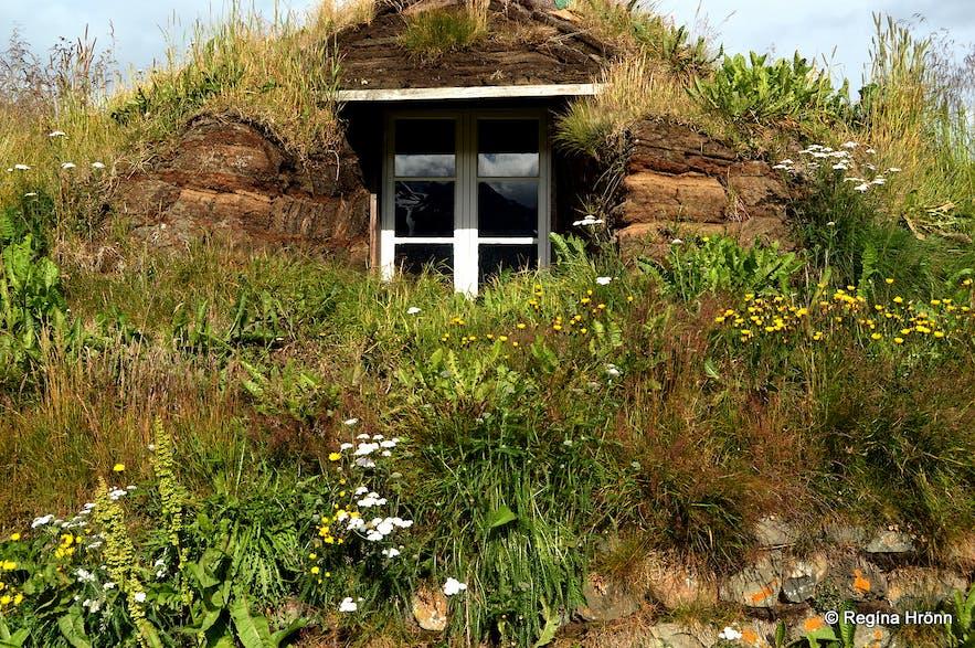 Nýibær turf- house in north Iceland