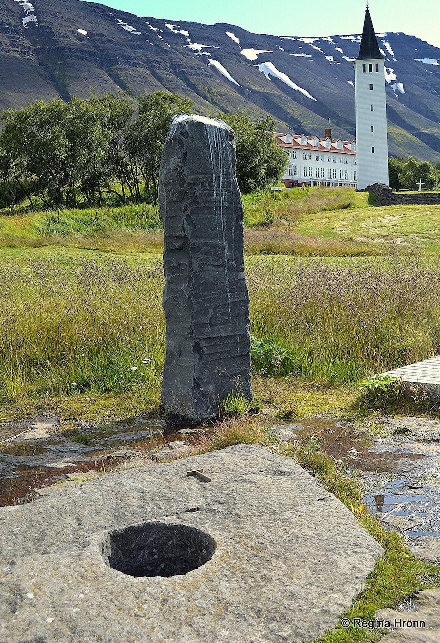 Gvendarbrunnur well in north Iceland