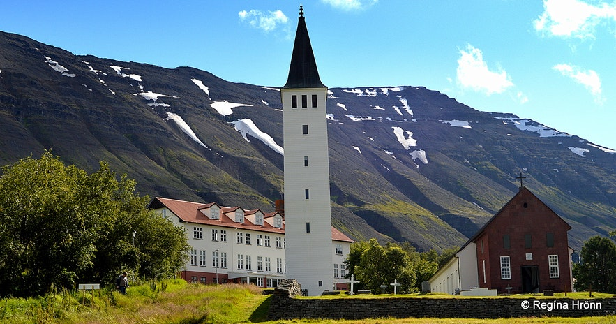 The historical Hólar in Hjaltadalur North-Iceland