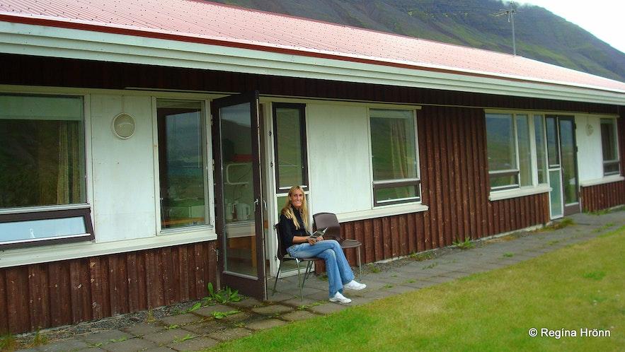 Regína staying at Hólar in Hjaltadalur