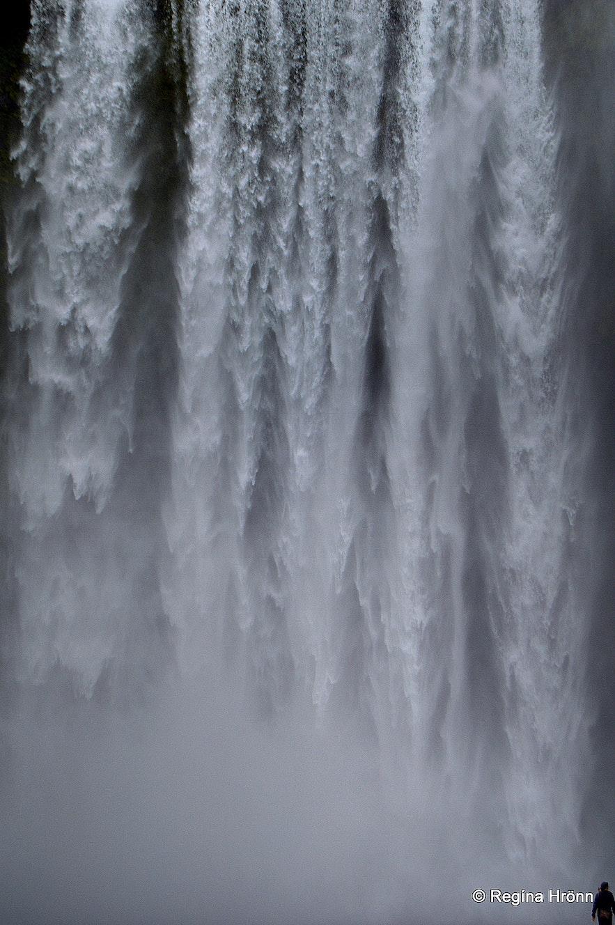 Skógafoss waterfall South-Iceland