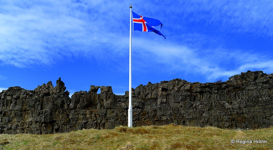 Lögberg at Þingvellir national park
