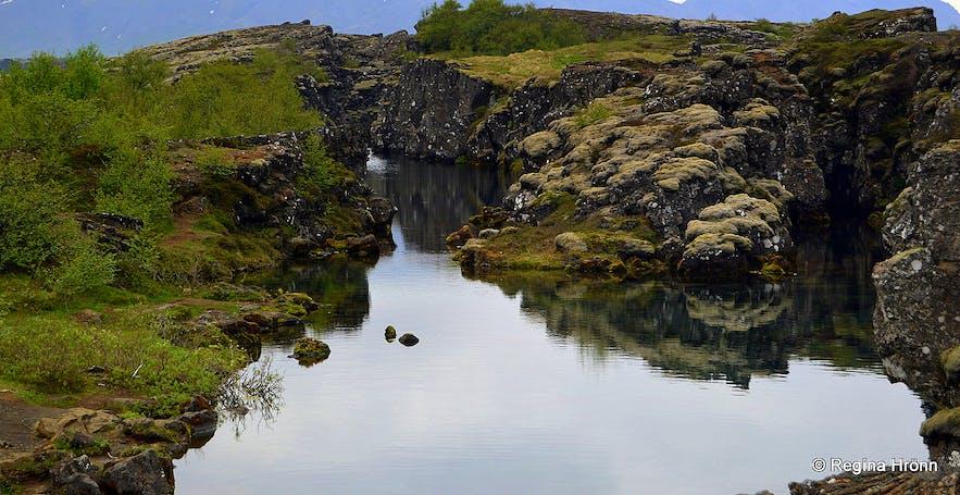 Flosagjá at Þingvellir national park
