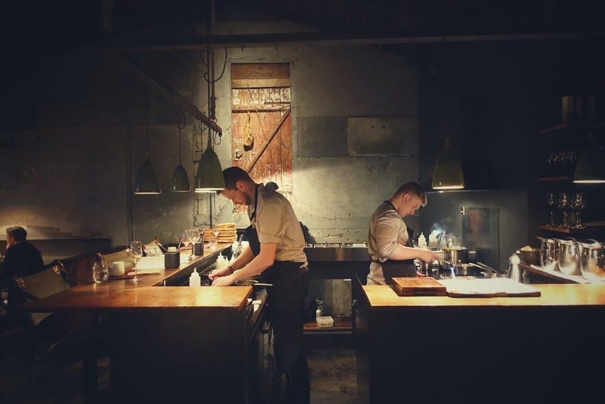 冰島米其林Dill 餐廳
