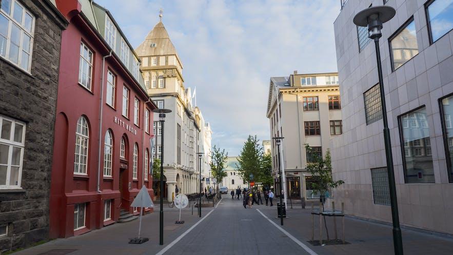 冰島市中心街道