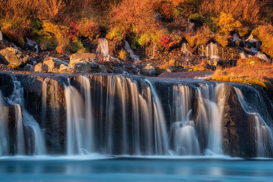 冰島秋季景色