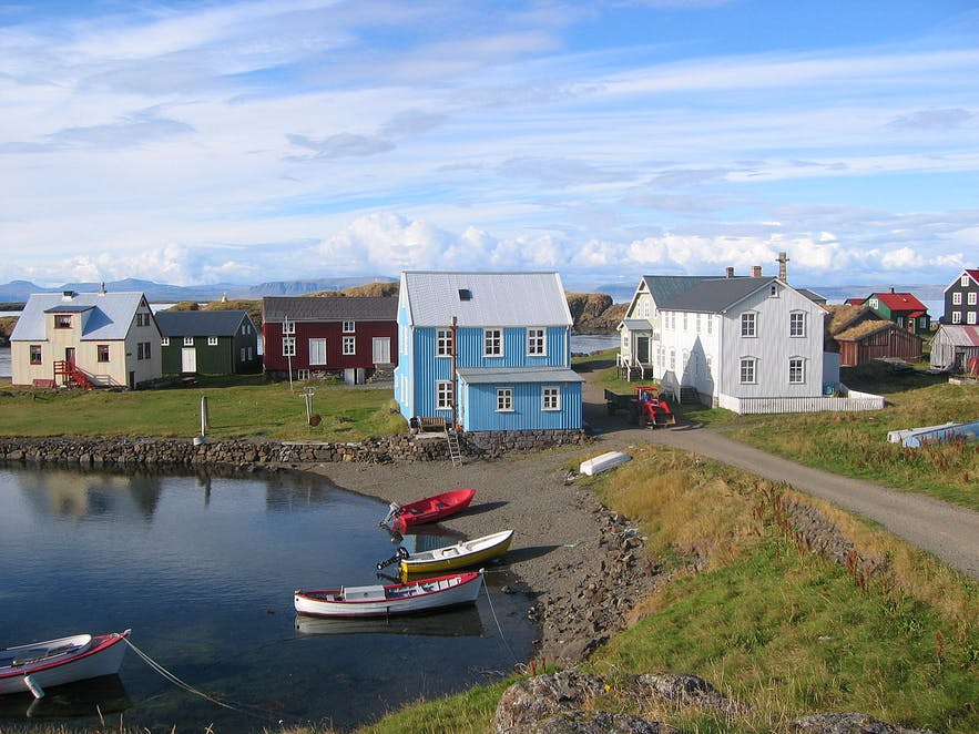 Flatey is a fantastic example of an Icelandic coastal community.