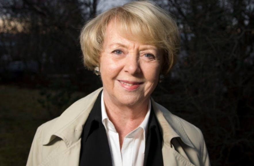 Vigdís Finnbogadóttir, the world's first democratically elected female president