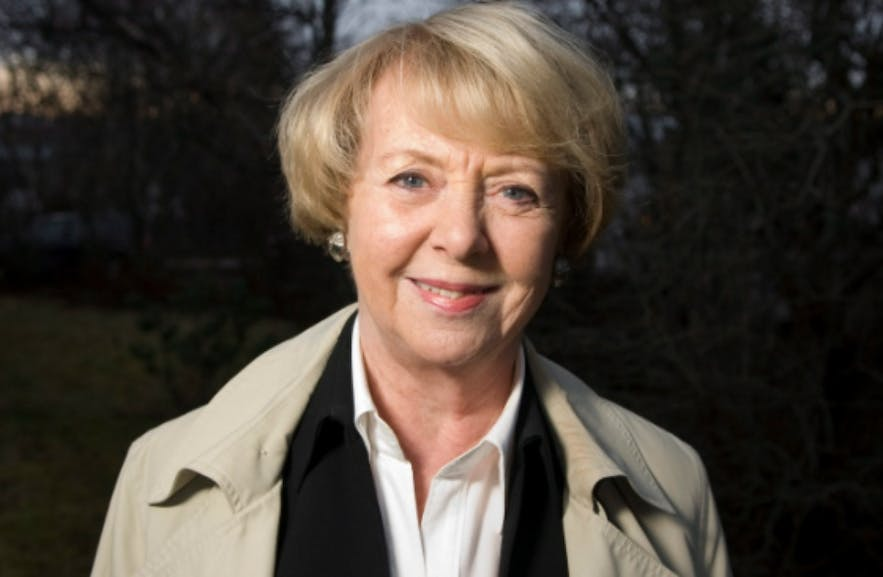 Vigdís Finnbogadóttir, the world's first democratically elected female president