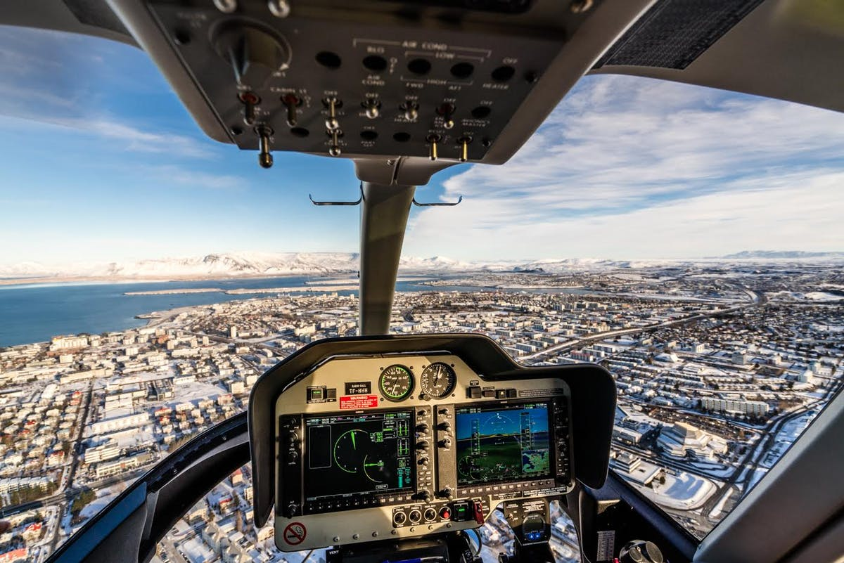 Helo Helicopter Service of Iceland hero image