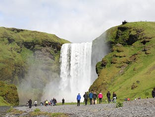 Hiker's One-Way Bus Ticket | From Seljalandsfoss to Skogar