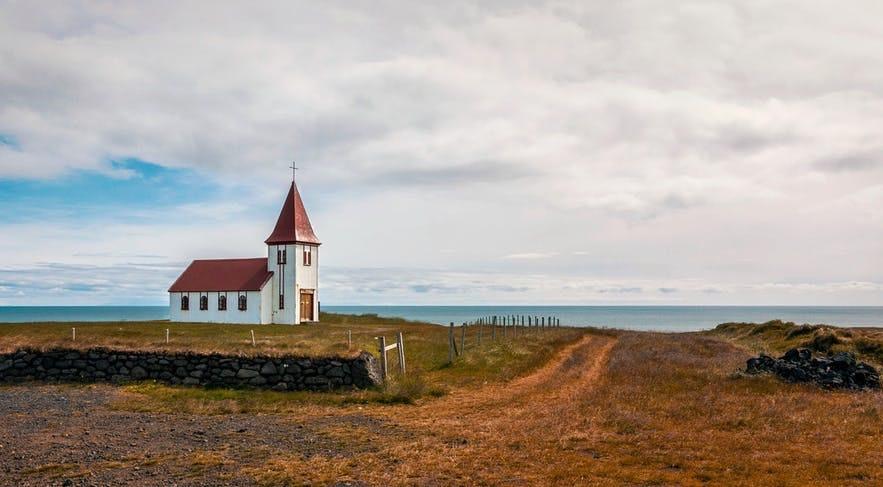 冰島秋天的景緻