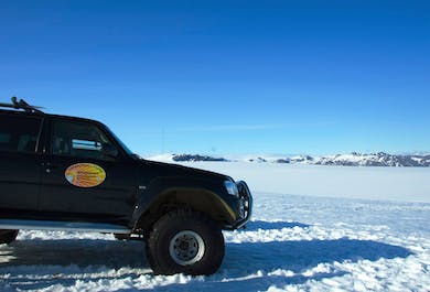 Glacier Jeep Tour on Vatnajokull Glacier