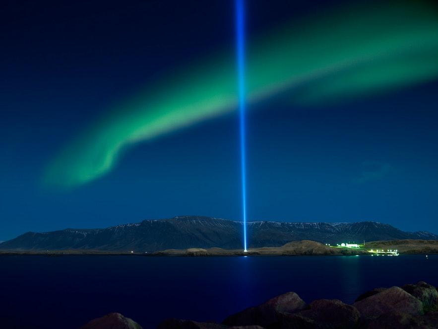 冰島Imagine Peace Tower