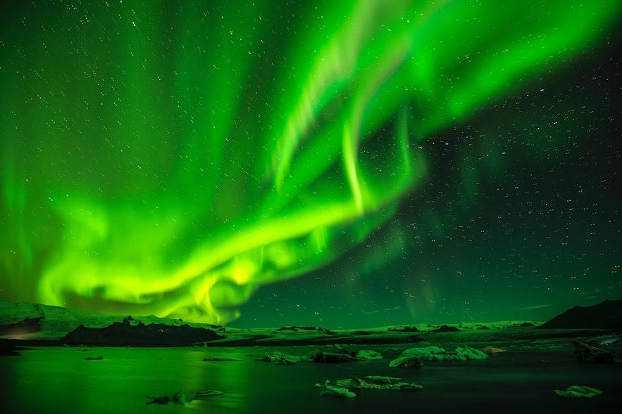 冰島10月極光