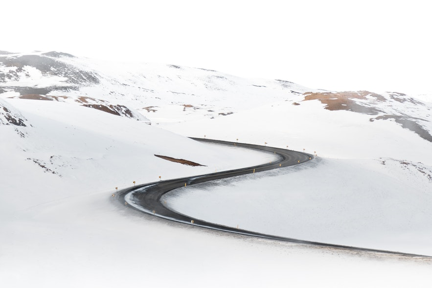 冰島冬季道路