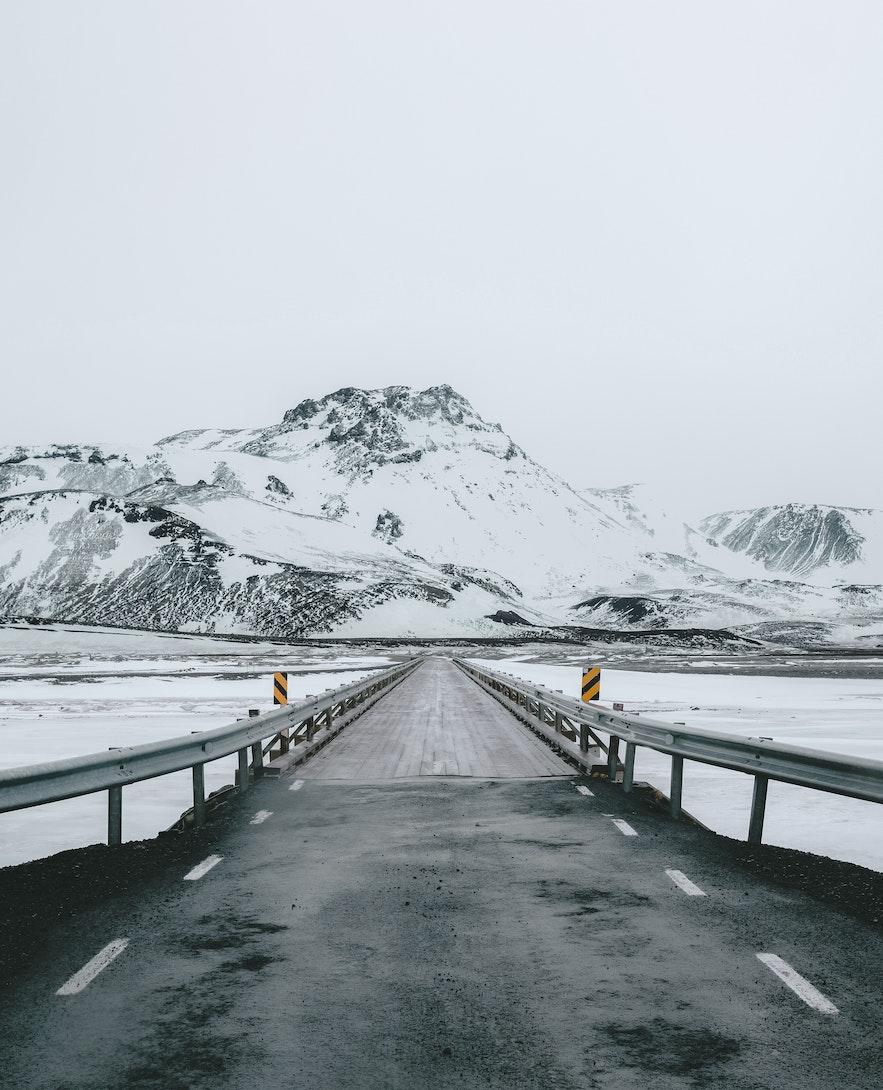 冰島某個路段