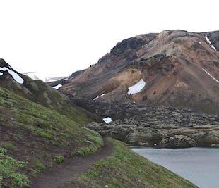 Ticket de autobús de regreso desde Landmannalaugar (Tierras Altas de Islandia)