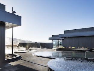 Eintritt zum Geothermalbad Krauma   Westisland