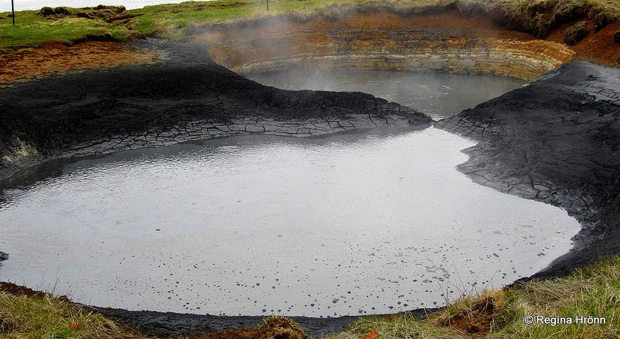 Seltún - the colourful Geothermal Area at Krýsuvík on the Reykjanes Peninsula in SW-Iceland