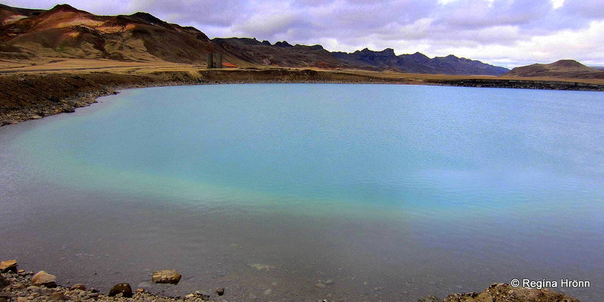 Grænavatn explosion crater