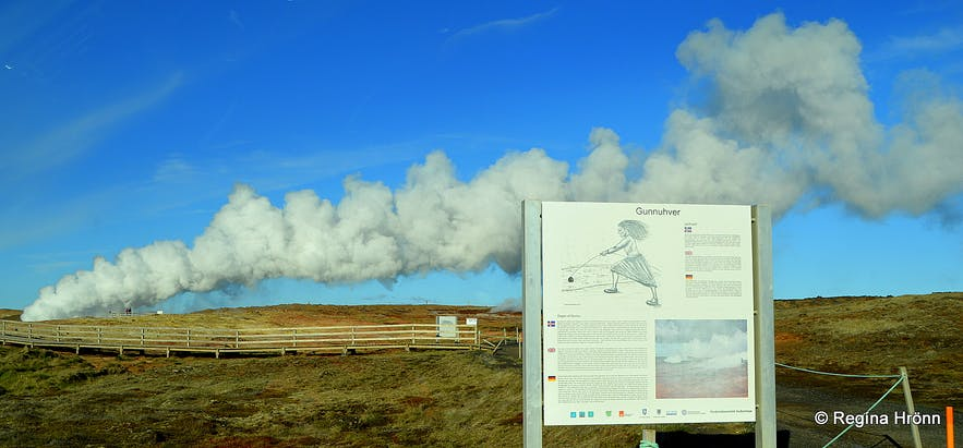 Have you met the angry Ghost at Gunnuhver Mud Pool in Reykjanes in SW-Iceland?