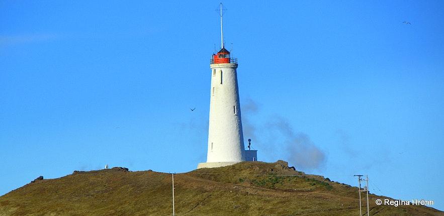 Reykjanesviti lighthouse in Reykjanes