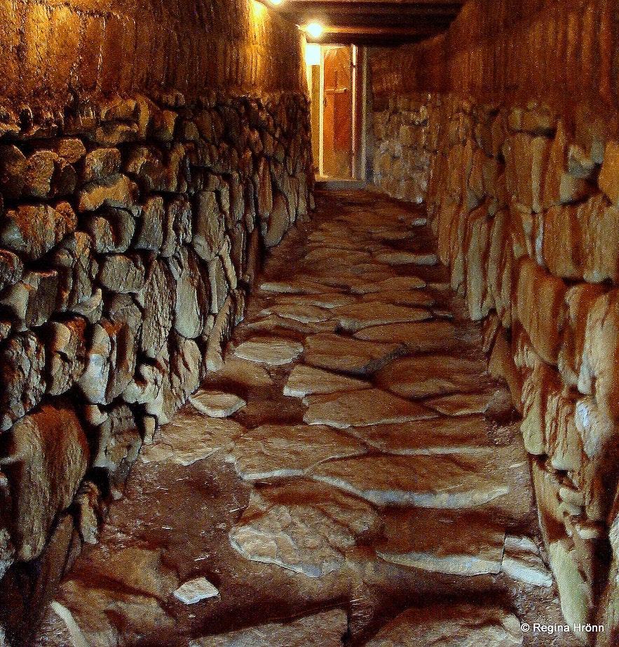 Skálholt - the medieval tunnel