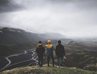 Journée de randonnée dans la vallée de Thorsmork   Sortie en Super Jeep