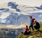 Hike in the untouched nature of Þórsmörk Valley on a super jeep tour to the highlands.
