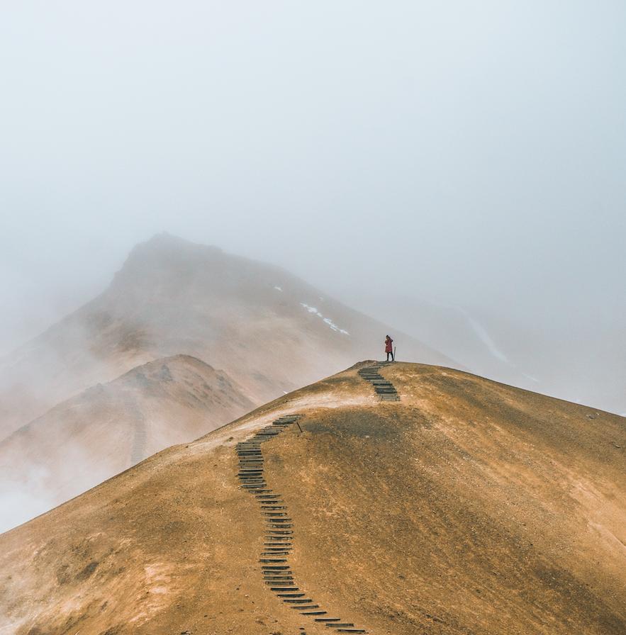 冰島中央內陸高地景色