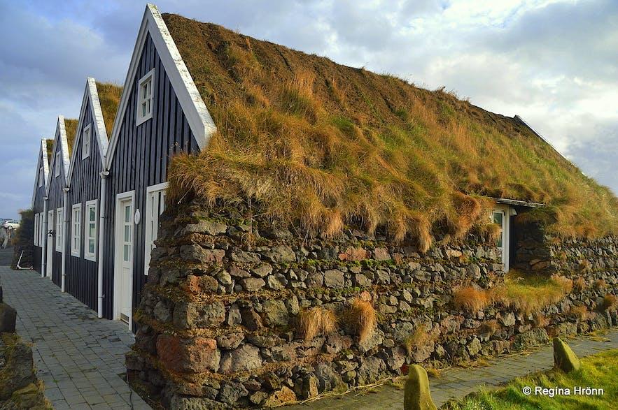 Hlið turf house in SW-Iceland