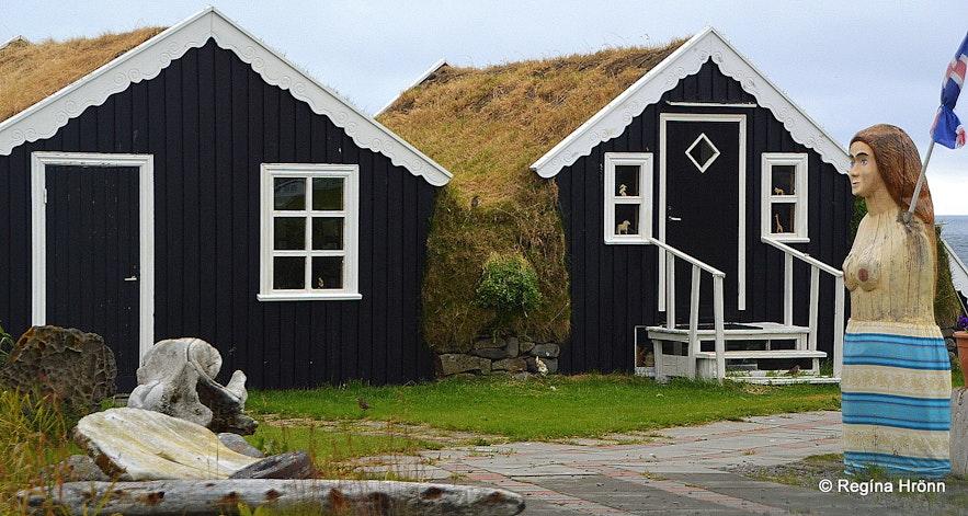 Mánárbakki turf house in North-Iceland